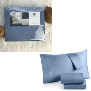 HOTEL COLLECTION Cotton 525 TC KING Sheets, Blue